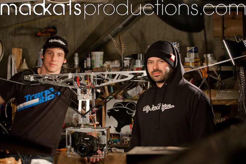 The new one off MadKats Productions Cable cam. Build and designed by Alex McAndrew