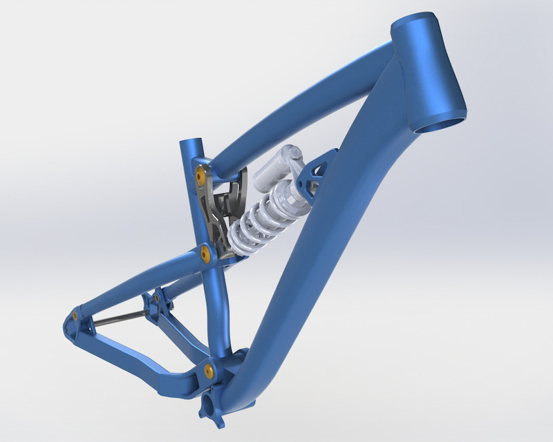 Dartmoor-Bikes FR frame prototype