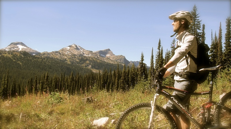 Backcountry trails from home base of Sol Mountain Lodge in the Monashee Mountains
