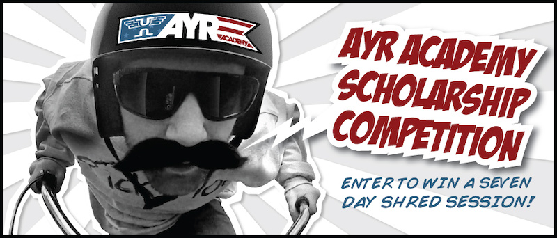 Ayr Academy Scholarship Competition- Enter to win a FREE session www.AyrAcademy.com