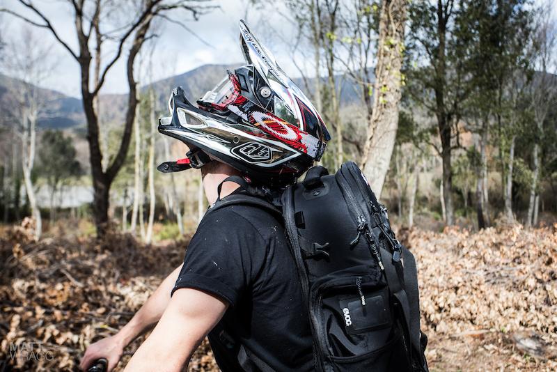 Helmet clearance.