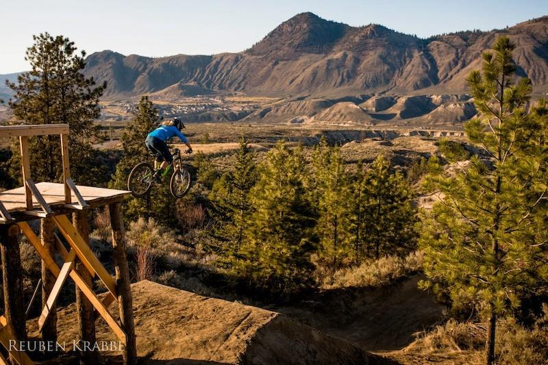 Kamloops Bike Ranch Drop
