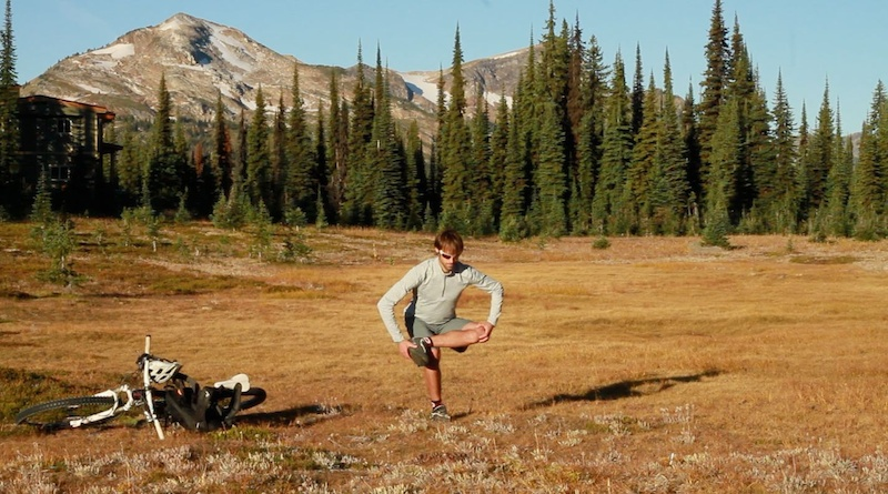 Hip Stretch Balance Practice