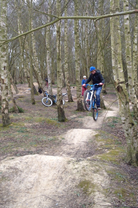 Manualling the pump track