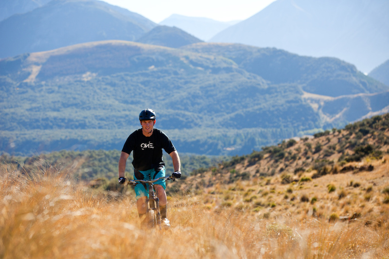 Cam Cole ripping up the Hogs Back Trail on his Yeti SP66 in the Craigieburn Reserve Canterbury New Zealand
