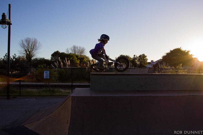 park riding
