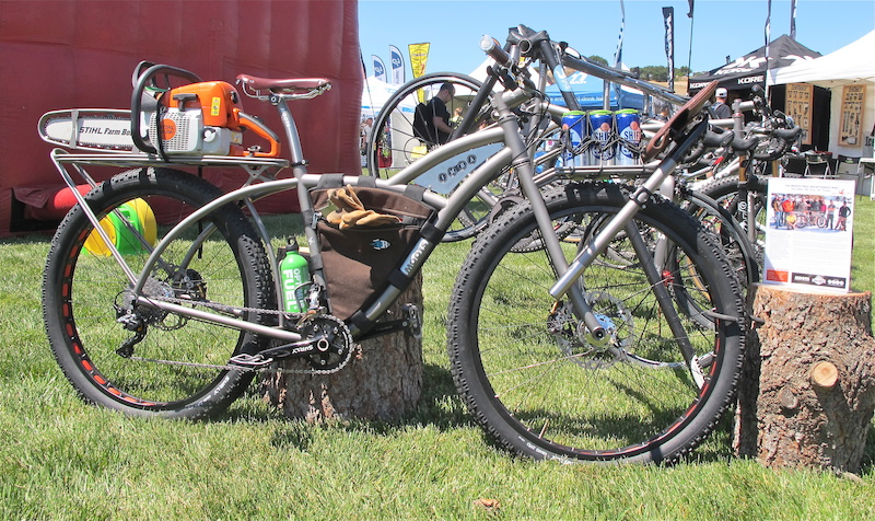 Rad Moots Bike - Sea Otter Classic Day 1