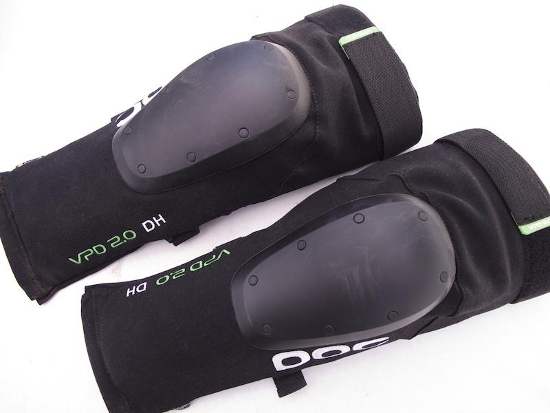 POC VPD 2.0 DH knee shin pads.