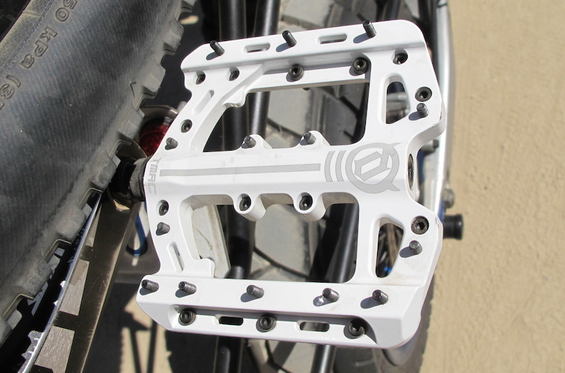 Prototype Deity T-MAC pedals. This is not the final version but it s looking pretty refined at this point.