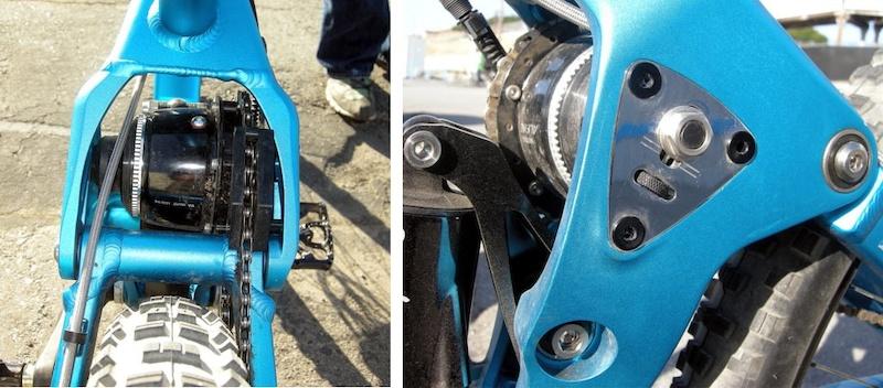 Zerode G2 Alfine gearbox
