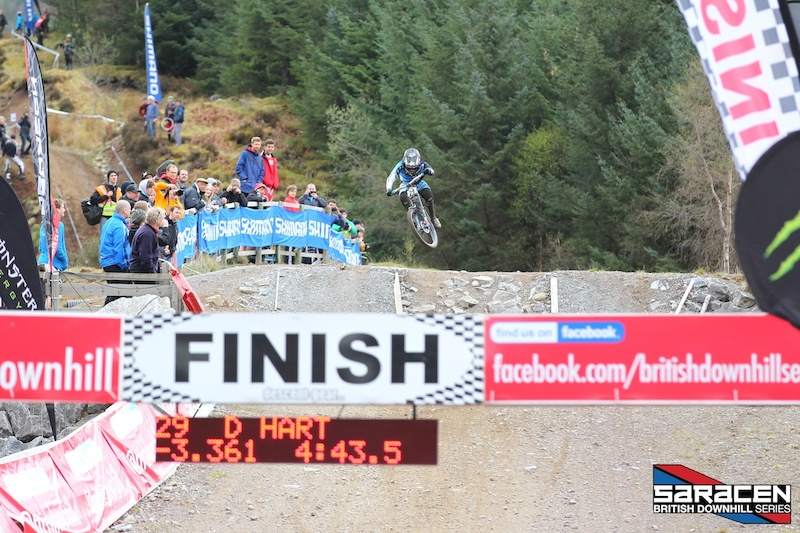 Danny wins R1 at Fort William AT THE SPLIT UP BY -3.361 OVER GEE