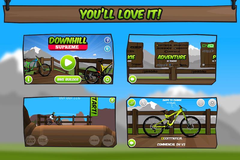 Video game screenshots.