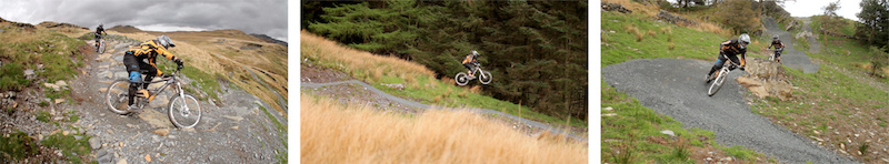 Screenshots from the latest Continental edit where the boys from the enduro team hit of North Wales hottest downhill venue - Laurence CE - www.laurence-ce.com