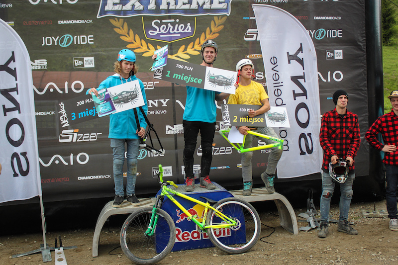 NS Bikes Slopestyle podium