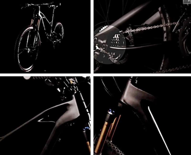 GT 2014 Carbon trailbikes details