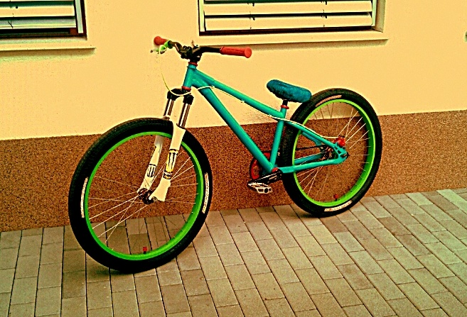 my new mtb bico
