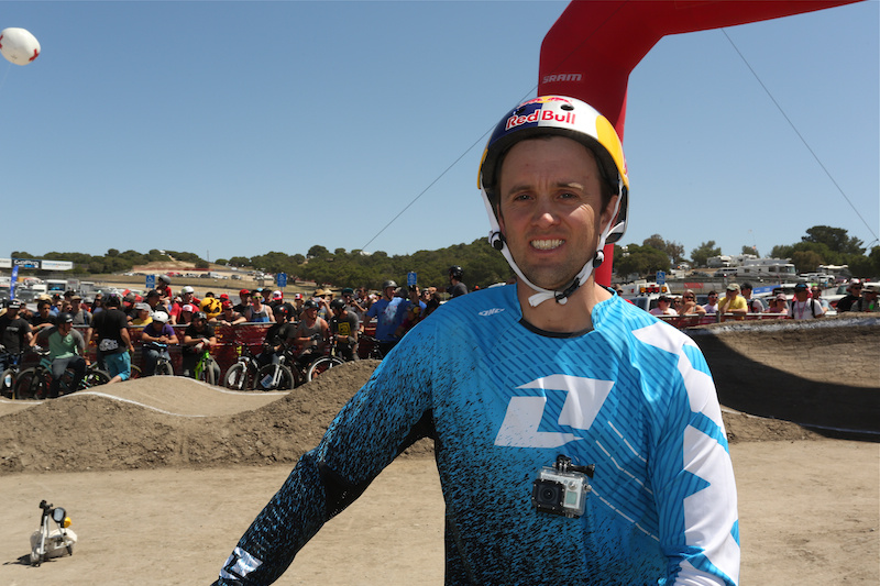 X-Games judge Aaron Chase at Sea Otter