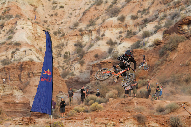 Tyler McCaul whips it out at Rampage 2012