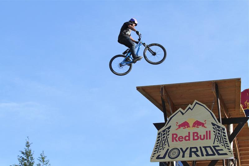 Yannick Granieri spins the Joyride drop