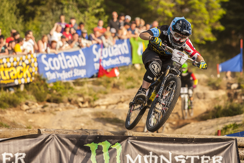 during round 2 of The 4X Pro Tour at Nevis Rangve Fort William Scotland United Kingdom. 8June 2013 Photo Charles Robertson