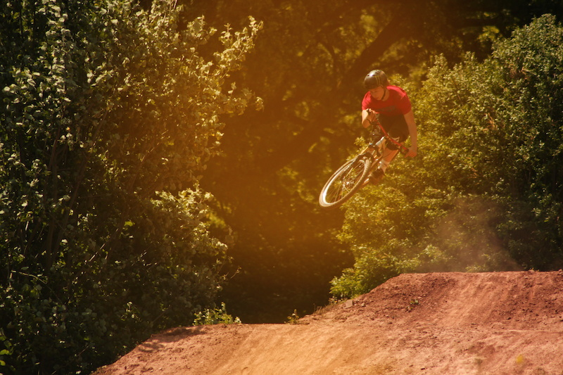 Summers day at Redhill Extreme Bike Park