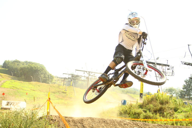 Speed and style Doesn t get much better. Make sure to keep an eye on Junior Expert rider Callum McEwen.