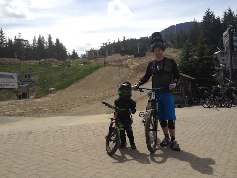 There is a first time for everything...4 years old. Lil Shredder