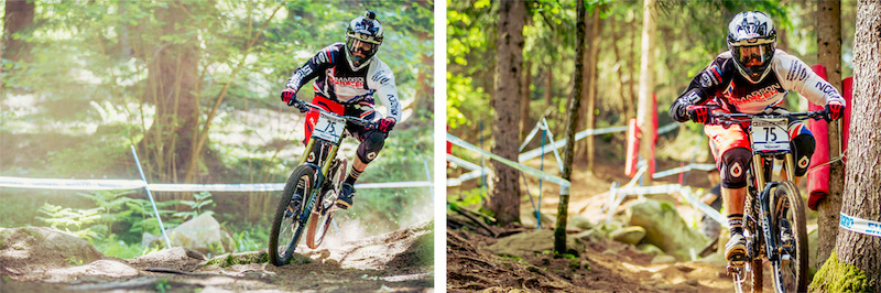 Madison Saracen Heated UCI MTB World Cup TWO - Val di Sole Italy - Find the article on Pinkbike.com - Laurence CE - www.laurence-ce.com