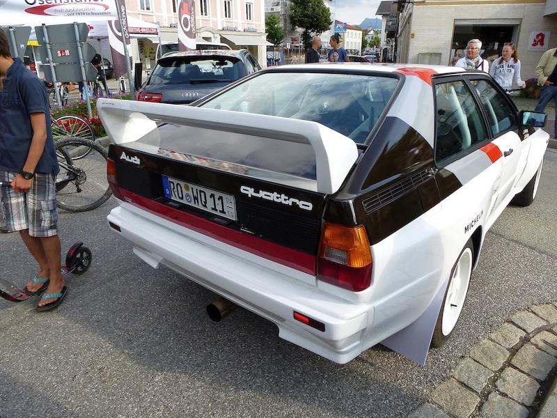 vintage Audi Quattro
