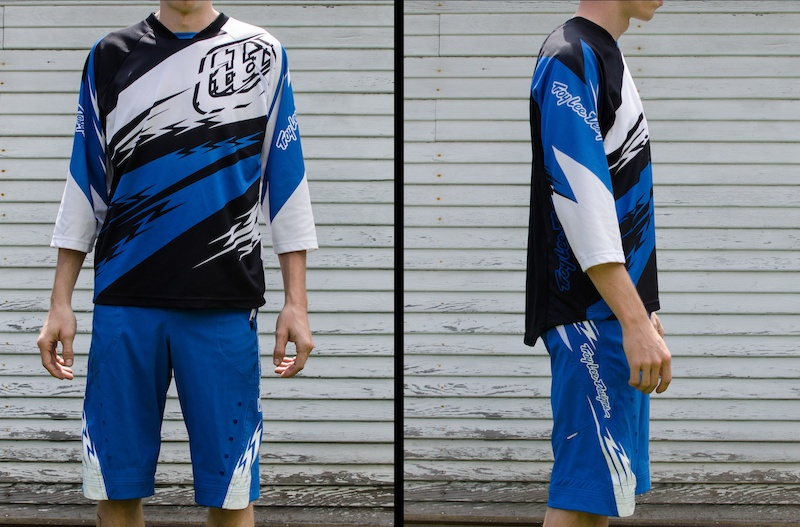 Troy Lee Designs Ruckus jersey and short