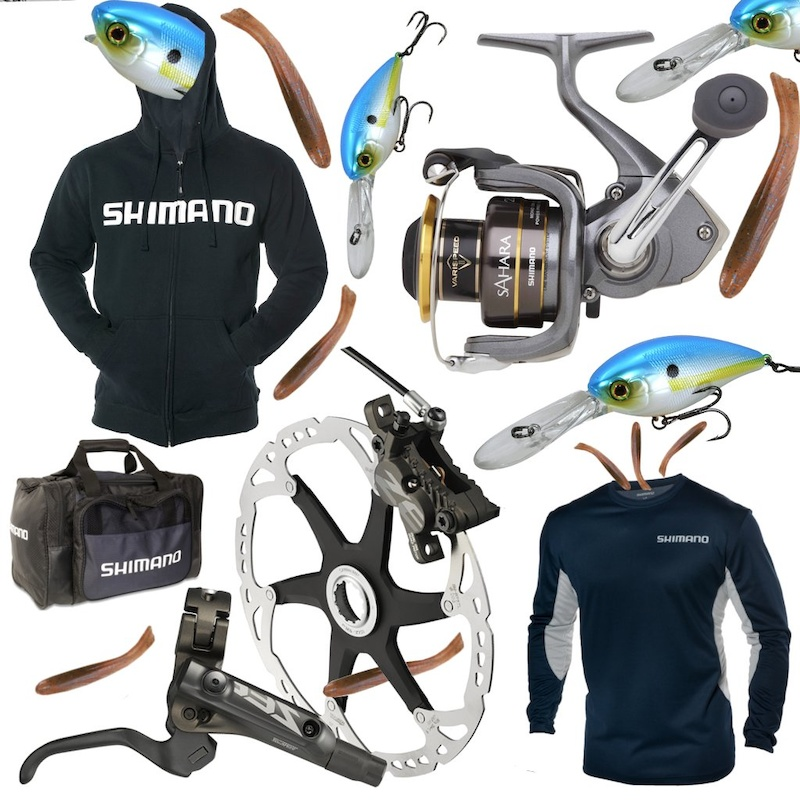 Shimano Downieville Contest prizes