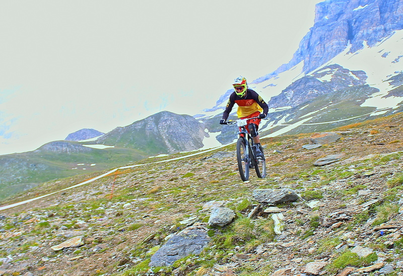 Megavalanche 2RX Cervinia - images courtesy of Dudes of Hazzard Liam Moynihan