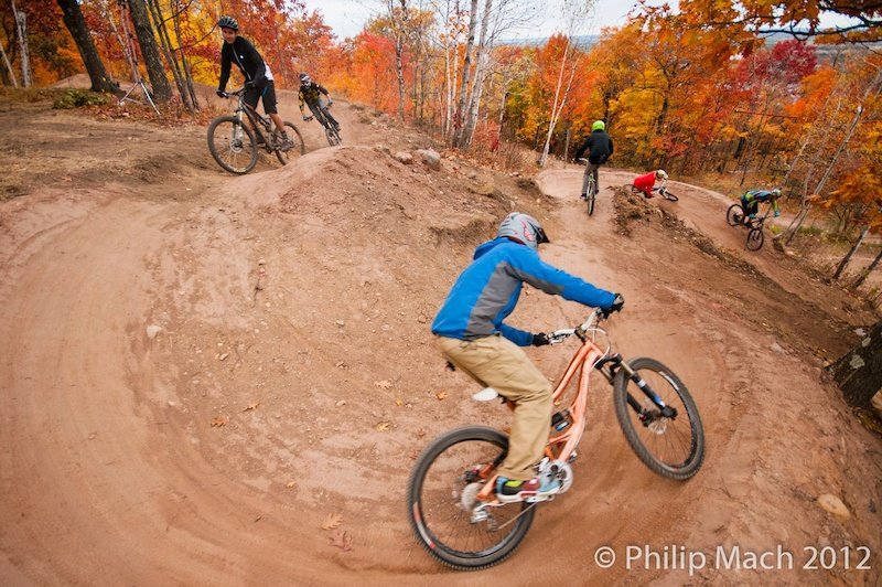 Training the berms