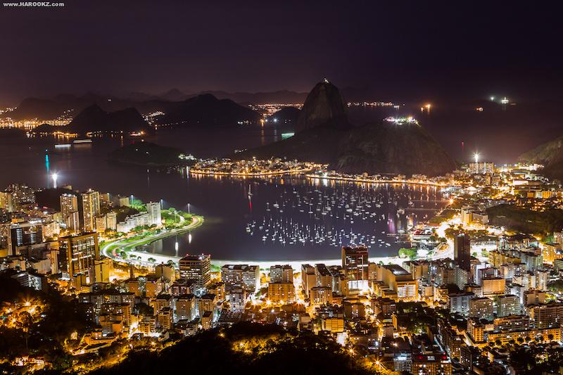 At rio at night in rio de janeiro brazil photo by for Miroir night club rio de janeiro