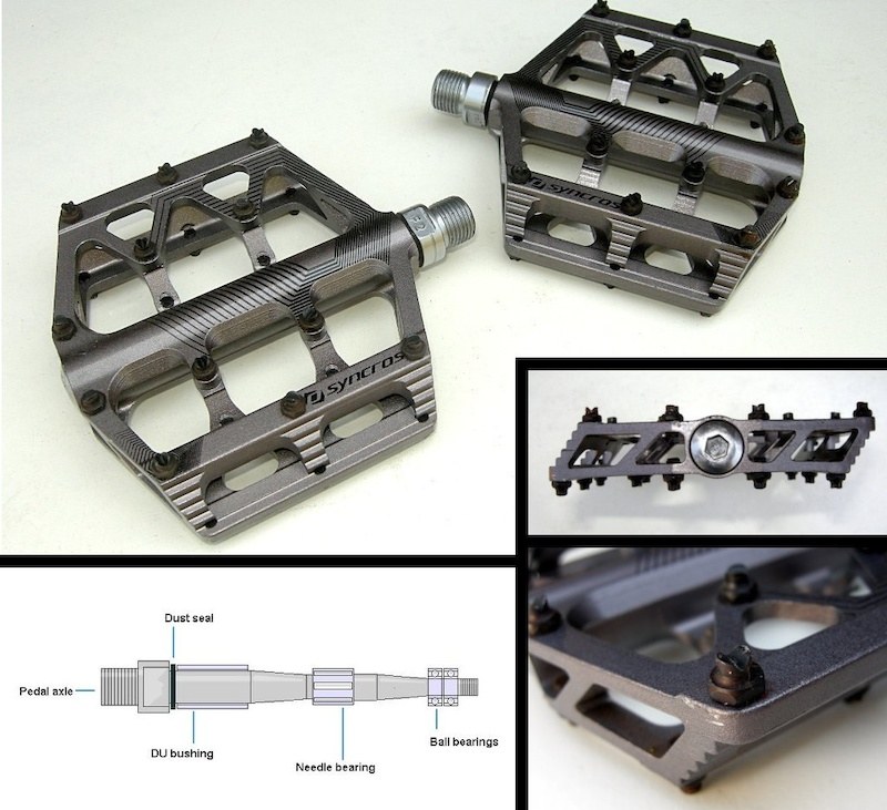 Sycros AM flat pedals