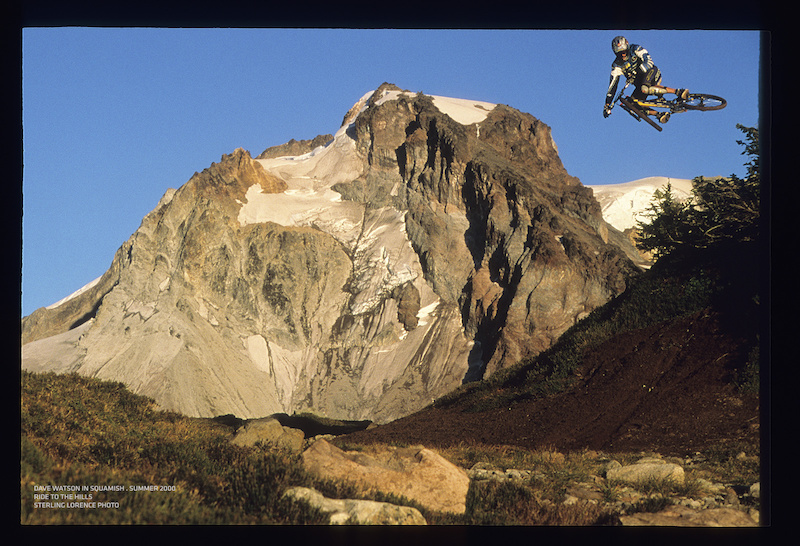 Dave Watson in Squamish BC while working on his segment for Ride to the Hills summer 2000.