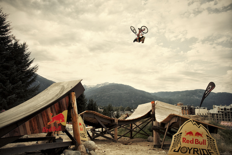 Cam Zink at the 2012 Crankworx in Whistler.