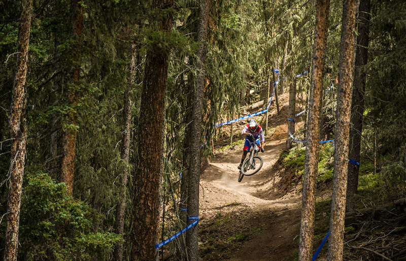 Aiello getting massive style points at Angel Fire this weekend.
