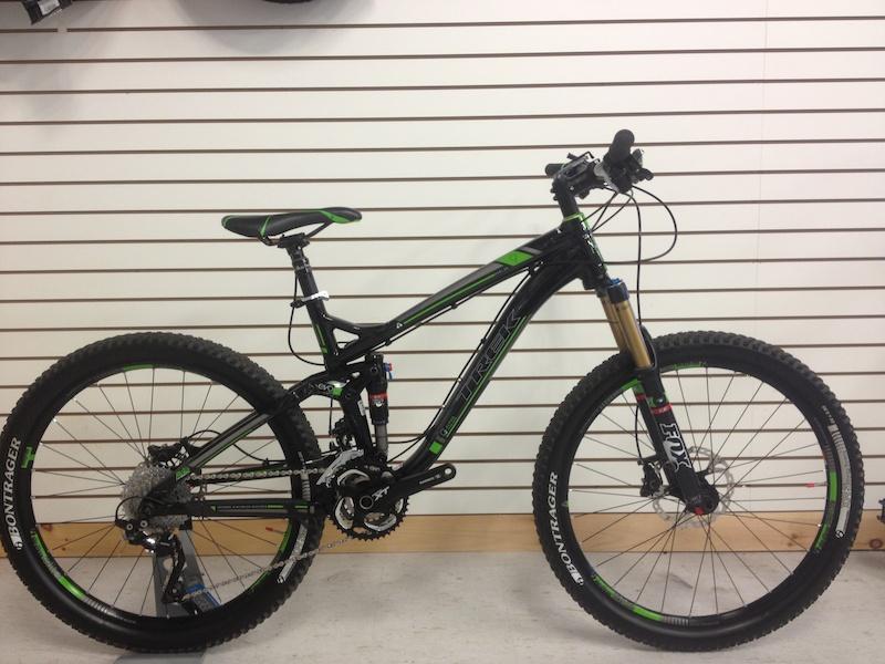 a9e57378d06 2013 Trek Fuel Ex 9 Blk/Green - 17.5 For Sale