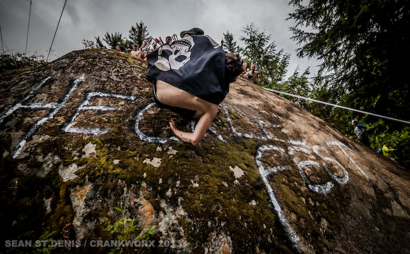 Crankworx 2013 Canadian Open Heckel Rock.