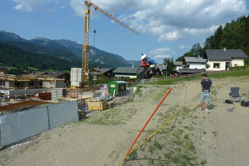 Styling in Schladming, training day
