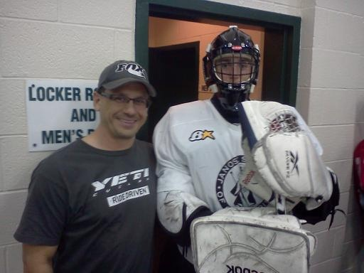 My 15 yr. old son before practice.