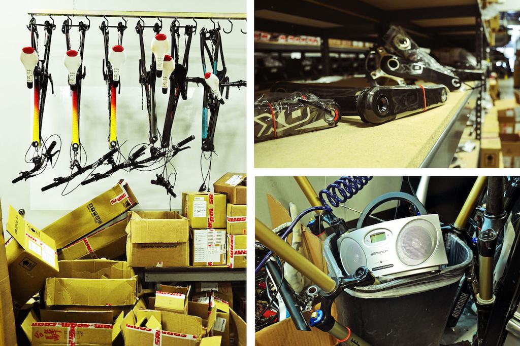 Sooo many bikes parts things
