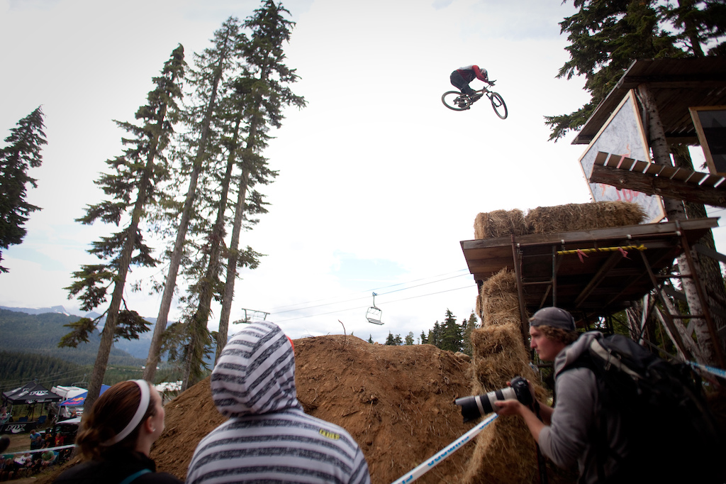 Brandon rode beyond clean and took home 1st place on the event. Nice truck driver off the drop.