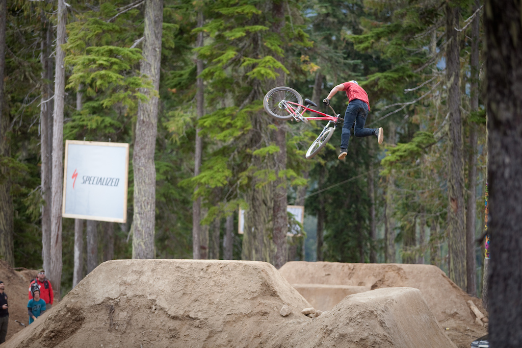 Yannick is a killer. Straight up. He smashed this course all weekend.