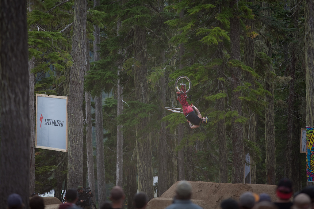 Jordy Lunn rode so well all weekend. Wasn t quite able to stomp this 3flip.