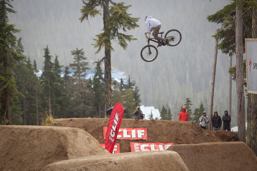 Cam Zink was representin Hyper in the whip off and doin a damn fine job.
