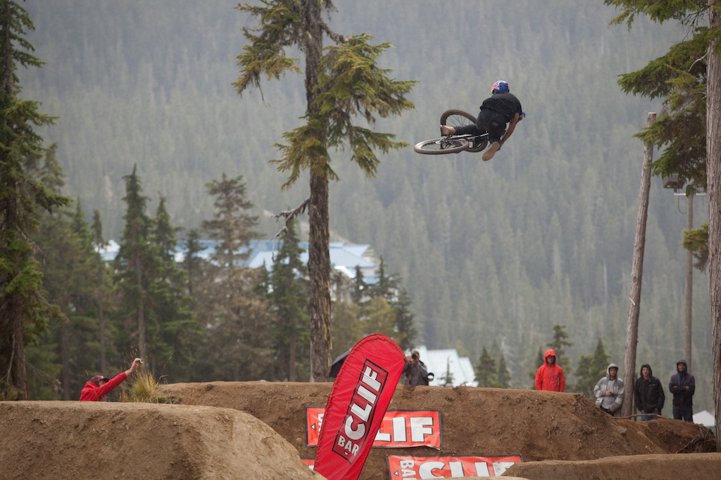 Andreu wasn t runnin the biggest whips during the whip off but he sure was layin out some sick tables.