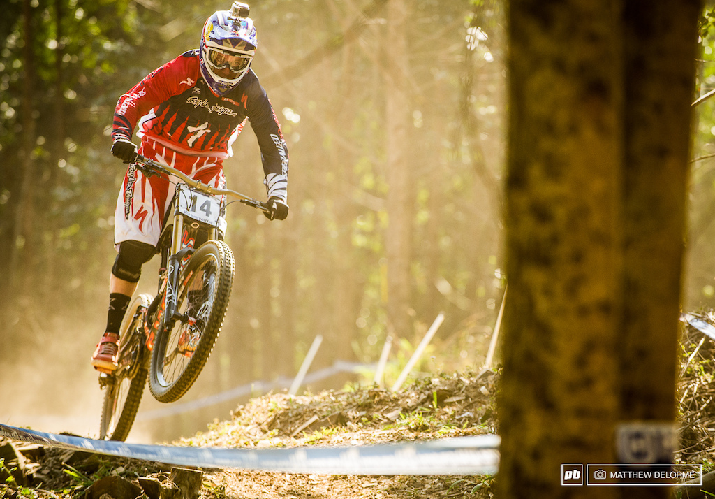 Aaron Gwin has been on the hunt for a result all season could it happen at Worlds