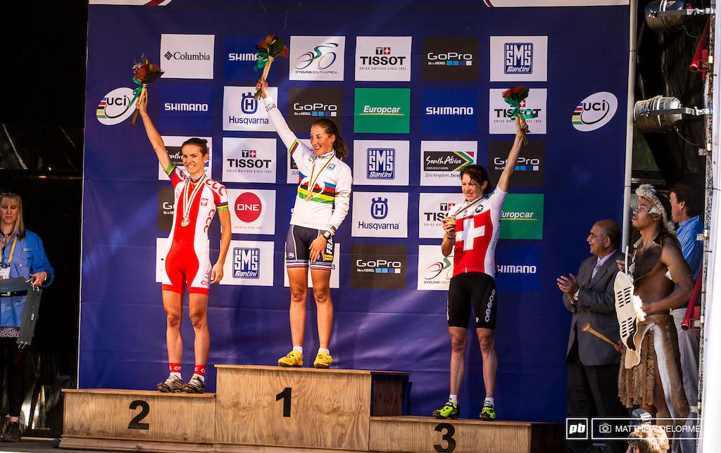 Julie Bresset women s elite world champion.
